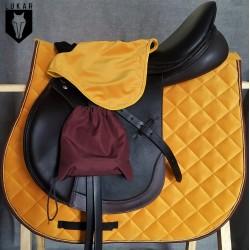 Bonnet JAUNE velours