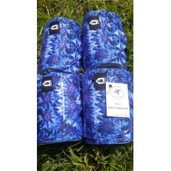Bandes Imprimées Fleurs Bleus